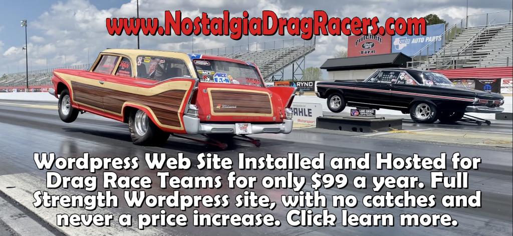 $99 Drag Racer Web Sites
